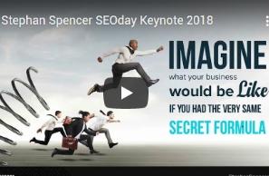Stephan Spencer Keynotes SEOday 2018